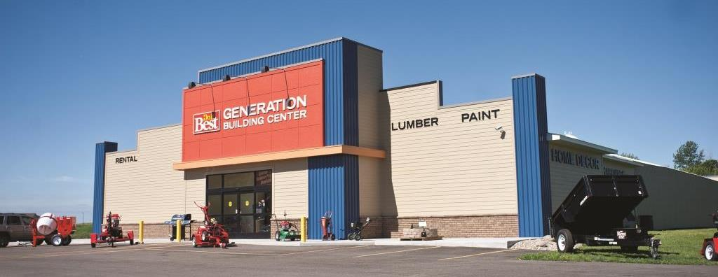 Generation Home & Building Center store front