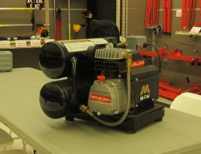 01-1001 Air Compressor 5 gal. 2 H.P. air tools