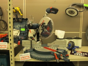 rental 12-1004 Bosch Miter Saw 12in