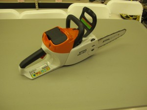 rental 12-1011 Stihl Chainsaw 12in 36 volt