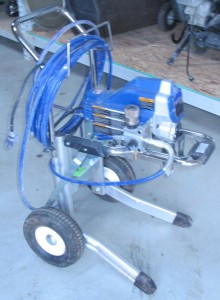 rental 17-1002 Graco Paint Sprayer 5 gal