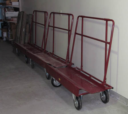 misc rental tools 19-1008 Material-Sheet rock cart