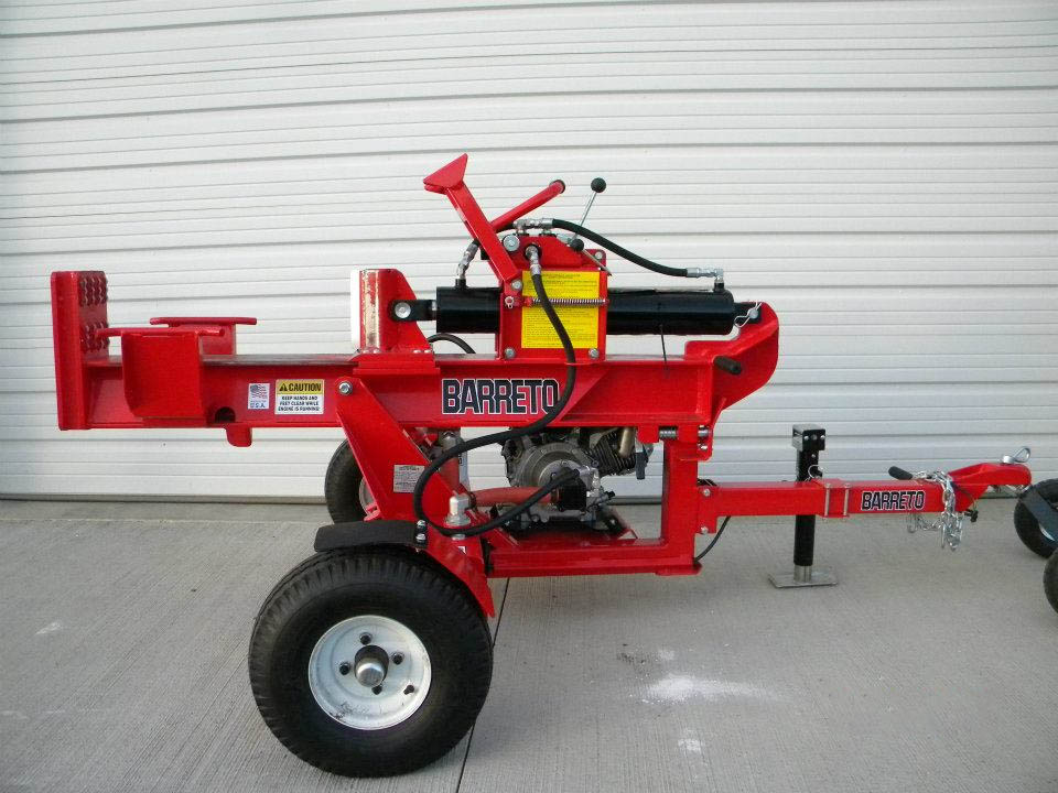 Barreto Log Splitter 21 Ton Generation Building Center