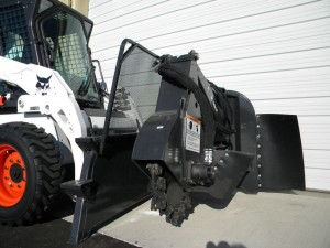 rental excavation tools Bobcat Stump Grinder Attachment