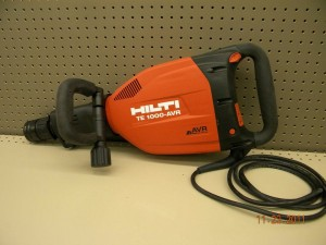Rental Hilti 26lb Jack Hammer demolition