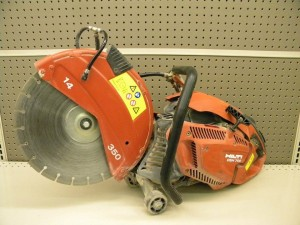 rental Hilti Concrete Saw 14 Hand Held