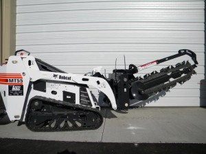 rental excavation tools MT55 36 trencher attachment