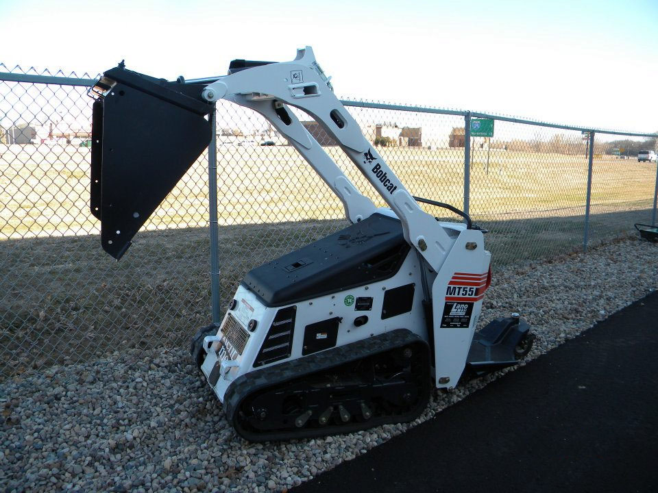 Mt55 Bobcat Mini Loader Generation Building Center