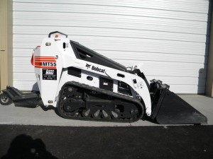 rental excavation MT55 Bobcat Mini Loader