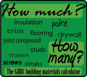 building materials calculator