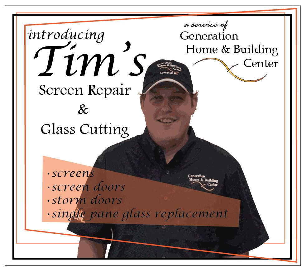 screen repair & glass cutting