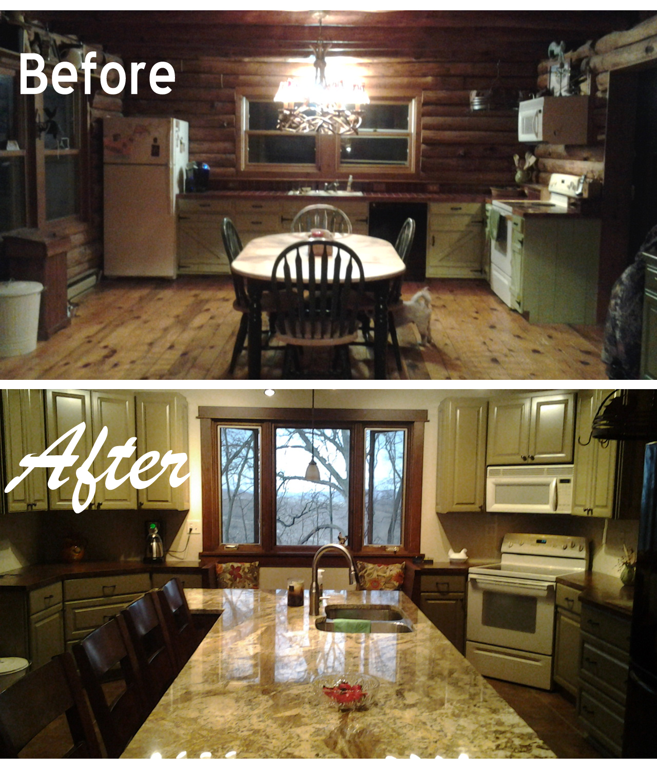 Galley Kitchen Remodels Before And After: Kitchen Remodel Before And After